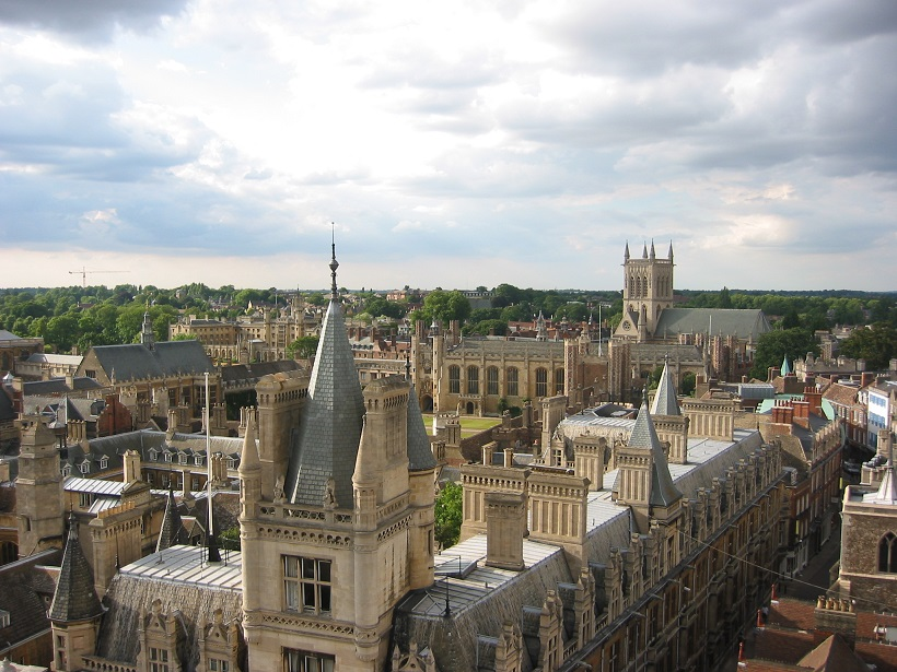 Cambridge from Great St Mary